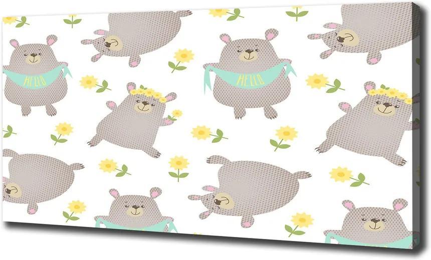 Tablou pe pânză Urşii ilustrare