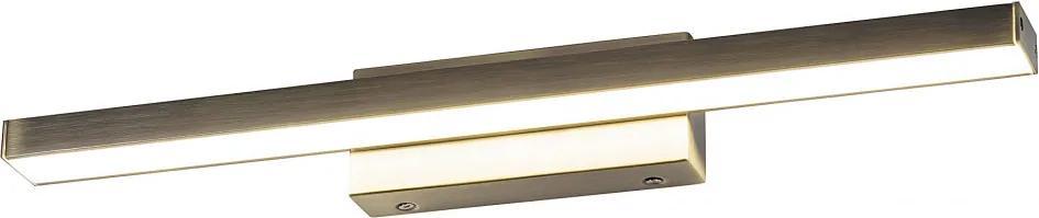 Rábalux John 5721 Aplice perete pentru baie bronz metal LED 12W 1080lm 4000K IP44 A+