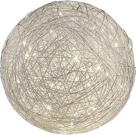 Trio THUNDER 525113005 Lampa de masa de noapte crom aluminiu incl. 1 x SMD, 8W, 3000K, 650Lm H:29,5cm, D:30cm,