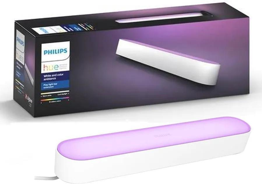 Lampă de masă LED RGB dimabilă HUE AMBIANCE LED/6W/230V neagră Philips