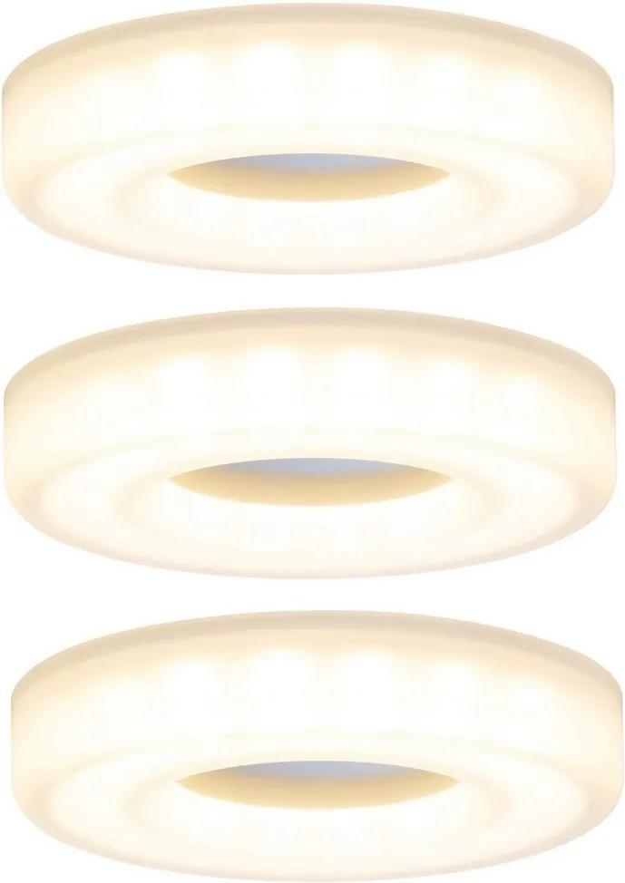 Paulmann 92704 - SET 3xLED/5,5W Lampă încastrată BAGEL 230V