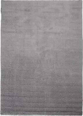 Covor Nobel uni gri inchis 80x80 cm