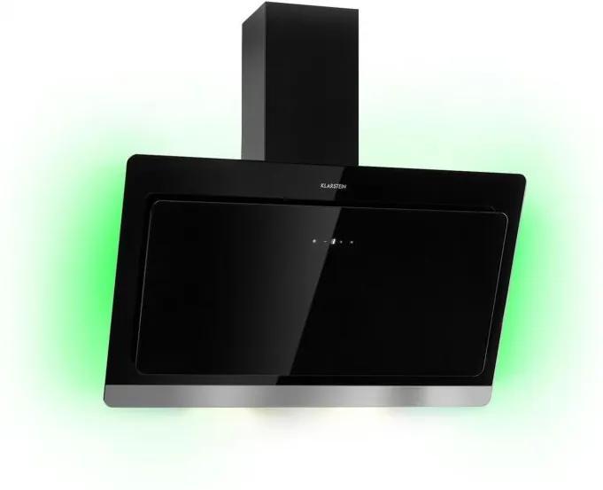 Klarstein Aurora Eco 90, hotă de aspirație, 550 m³/h, afișaj LED, neagră
