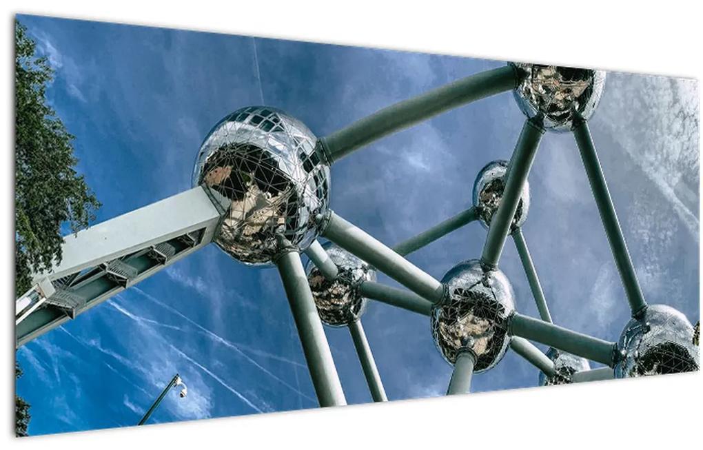 Tablou- atomium la Bruxelles (120x50 cm), în 40 de alte dimensiuni noi