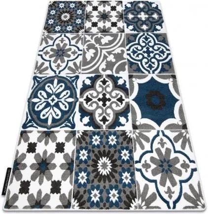 Covor ALTER Porto Flori albastru 80x150 cm