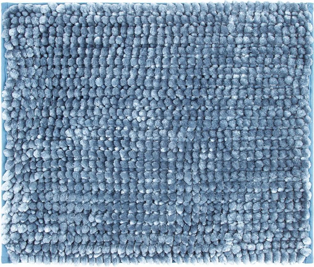 Covoraș de baie Ella micro, albastru, 40 x 50 cm, 40 x 50 cm