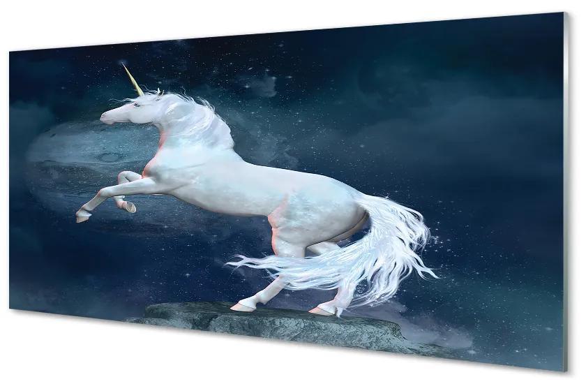 Tablouri acrilice Tablouri acrilice cerul planetei Unicorn