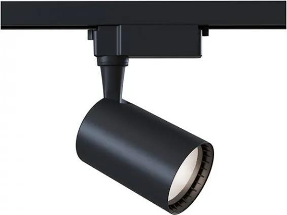 Spot negru din aluminiu cu LED Track Black Medium Maytoni