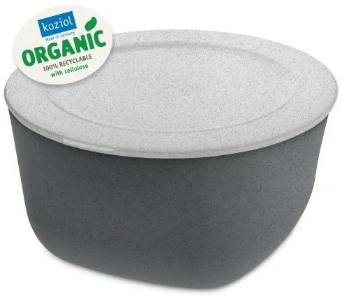 Caserola cu capac, 100% Reciclabil, Connect XL Organic Gri inchis, 4 L