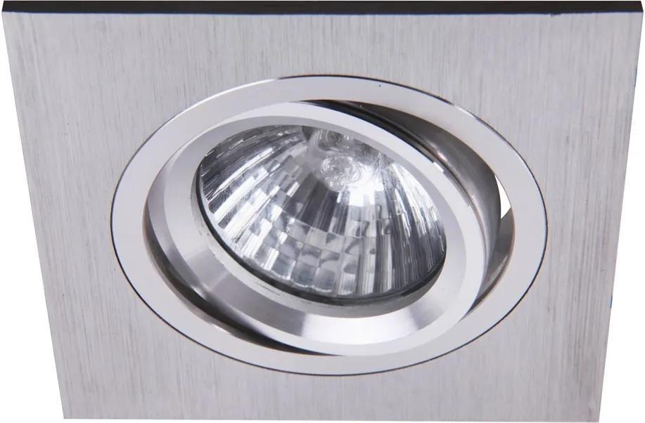 Rábalux Spot fashion 1117 Spoturi incastrate Aluminiu periat GU5.3 12V 1x MAX 50W 92 x 92 mm