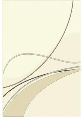 Covor sintetic Soho crem/bej 60x110 cm