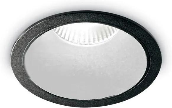 Spot-Incastrat-GAME-ROUND-BLACK-WHITE-192338-Ideal-Lux