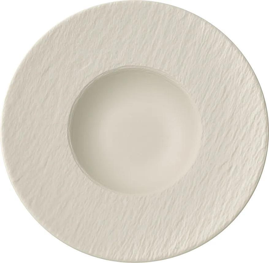 Farfurie pentru paste, colecția Manufacture Rock blanc - Villeroy & Boch