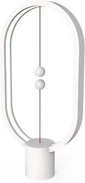 Veioză Heng Balance, cablu detaşabil USB-C - Alb