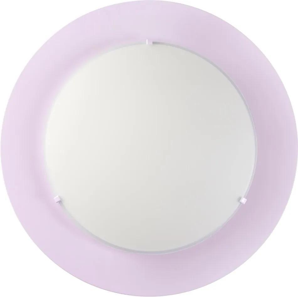 Dalber 41006L Plafoniere pentru copii COLORS violet plastic 2xE27 max. 40W
