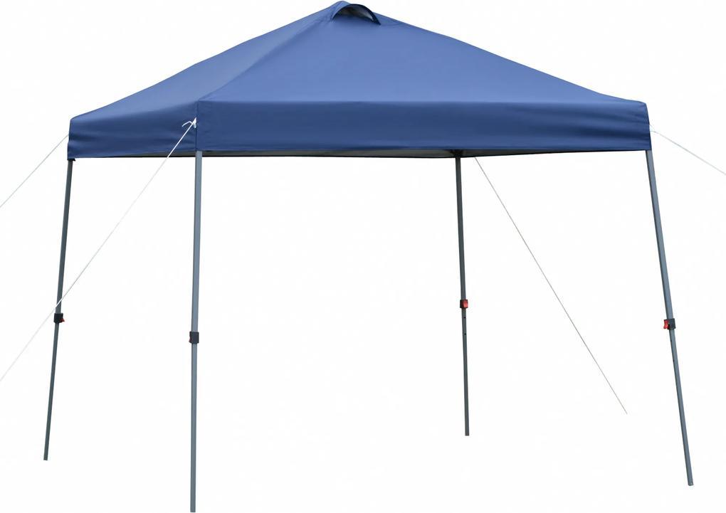 Outsunny Foisor pliabil 3x3m pentru Gradina si Exterior in metal cu acoperis in tesatura Oxford Albastru