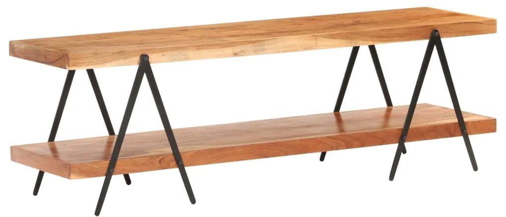 320500 vidaXL Comodă TV, 160 x 40 x 50 cm, lemn masiv de acacia