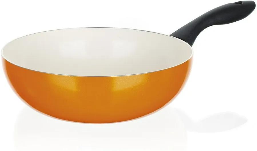 Banquet WOK tigaie 24 cm portocalie