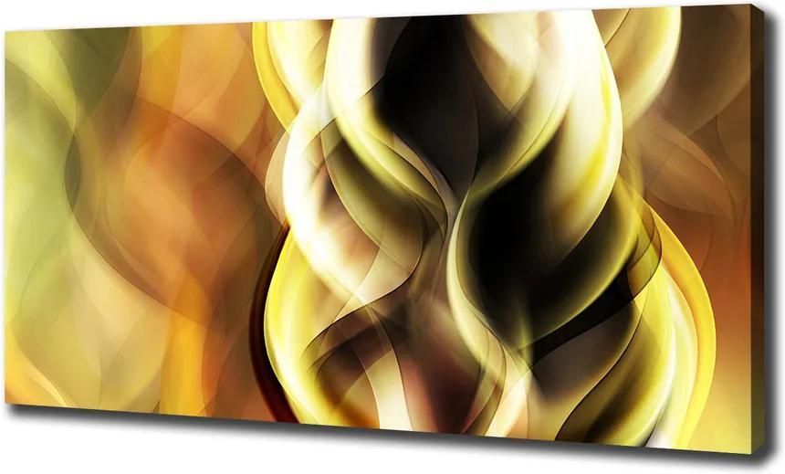 Imprimare tablou canvas Lumina aurie