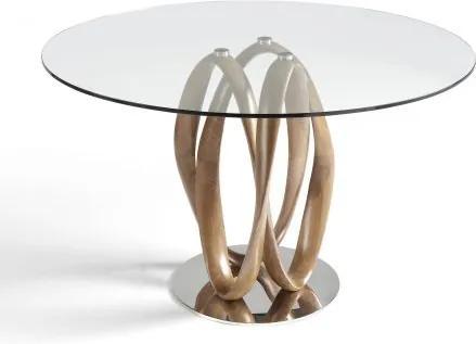 Masa dining design deosebit Ben, 130cm