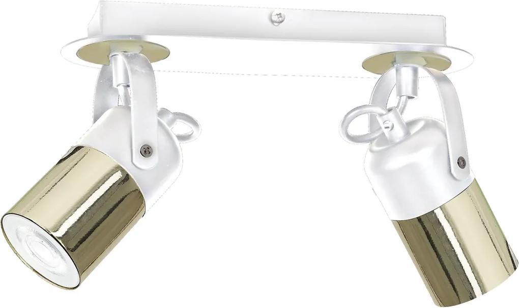 Lustra Plafon WILSON WHITE Milagro Modern, GU10, Alb, MLP5751, Polonia