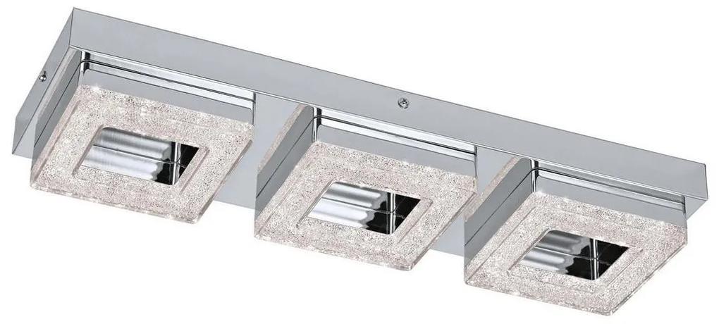 Eglo 79046 - Plafonieră LED de cristal NOVEL 3xLED/4W/230V