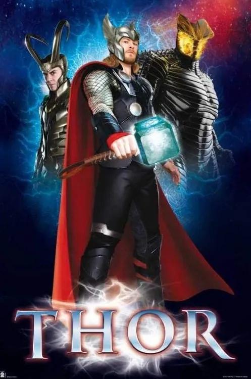 Marvel - Thor Poster, (61 x 91,5 cm)