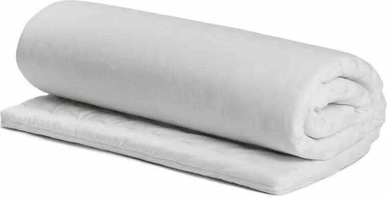 Topper Bedora Confort 140x200 cm, spuma poliuretanica, medie, 4 cm, husa detasabila, lavabila, antialergica