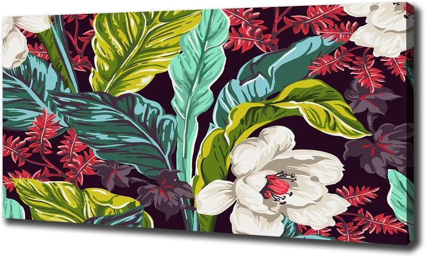 Pictură pe pânză Flori tropicale