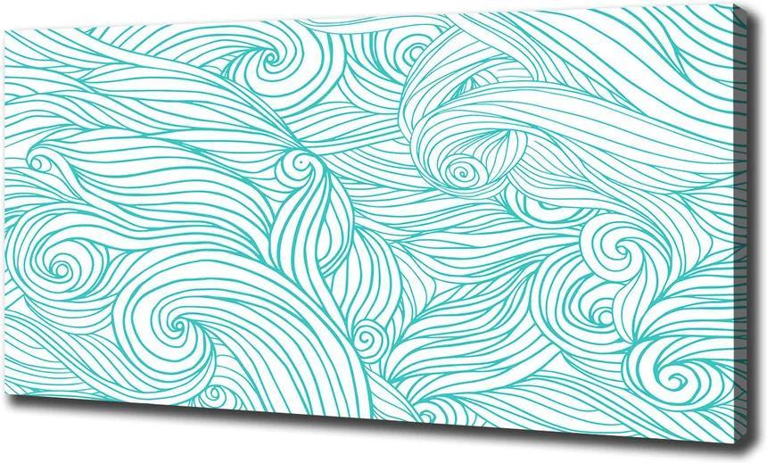 Tablou canvas Val albastru