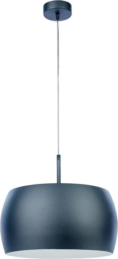 Jupiter 1620 - Lustră pe cablu ROXI 1xE27/60W/230V gri/alb
