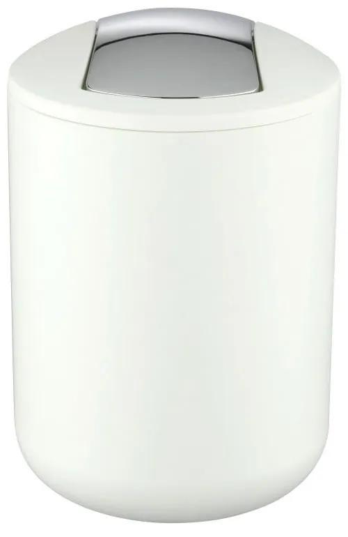 Coș deșeuri Wenko Brasil, 21 cm, alb