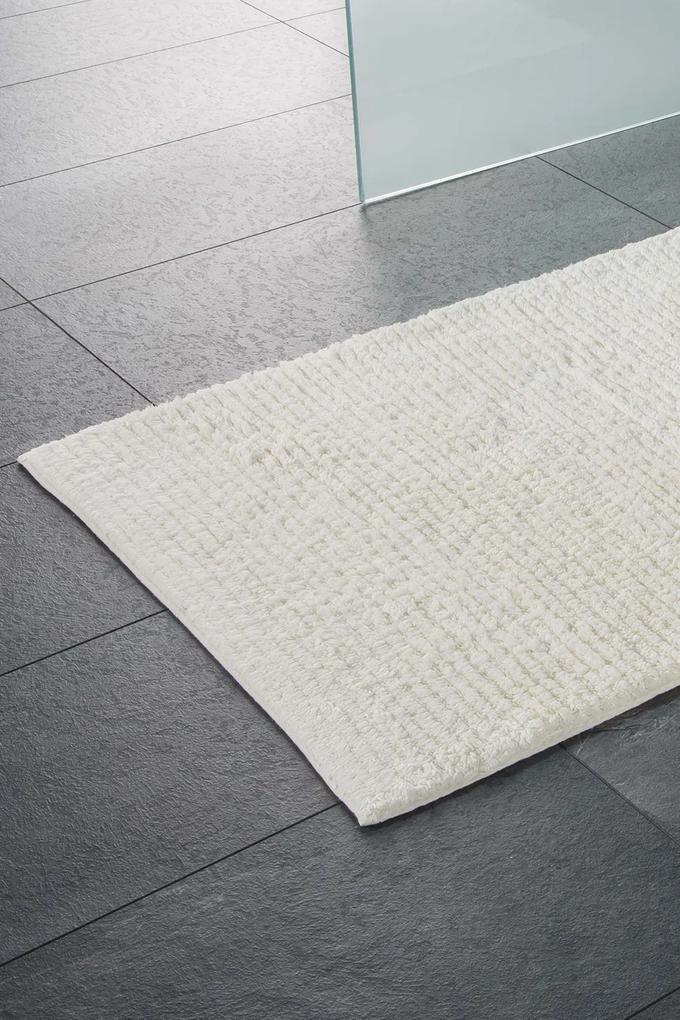 Covor pentru baie Agra, ecru alb 60x100 cm