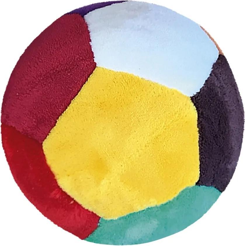 Pernă pentru copii minge din pluș, 20 cm