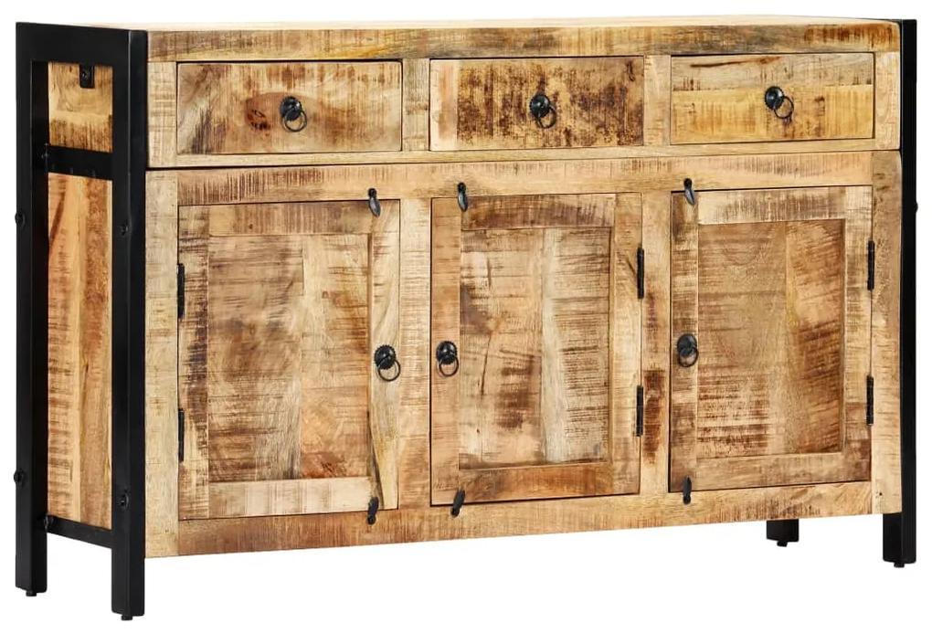 247445 vidaXL Servantă, 120 x 35 x 76 cm, lemn masiv de mango