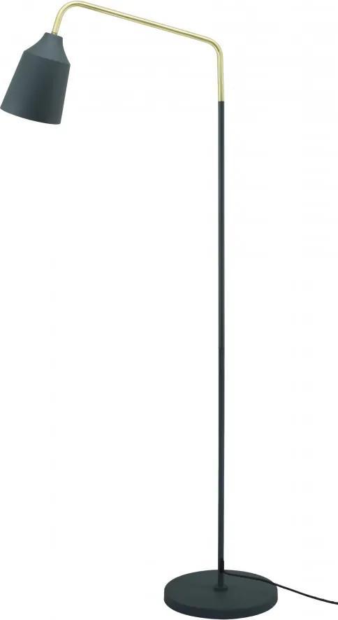 Lampadar din fier/cupru Capree albastru, un bec