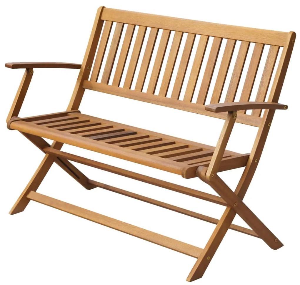 44132 vidaXL Bancă de grădină, 120 cm, lemn masiv de acacia