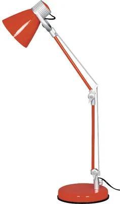 Lampa de birou Zack E14 max. 1x40W, portocaliu
