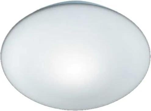 Plafoniera Pur sticla, alb, diametru 25 cm