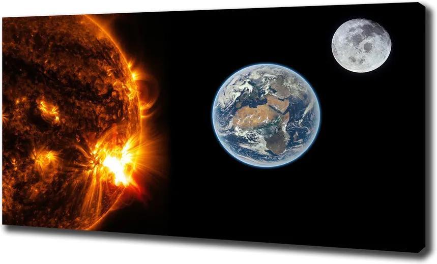 Tablou pe pânză canvas Sistem solar