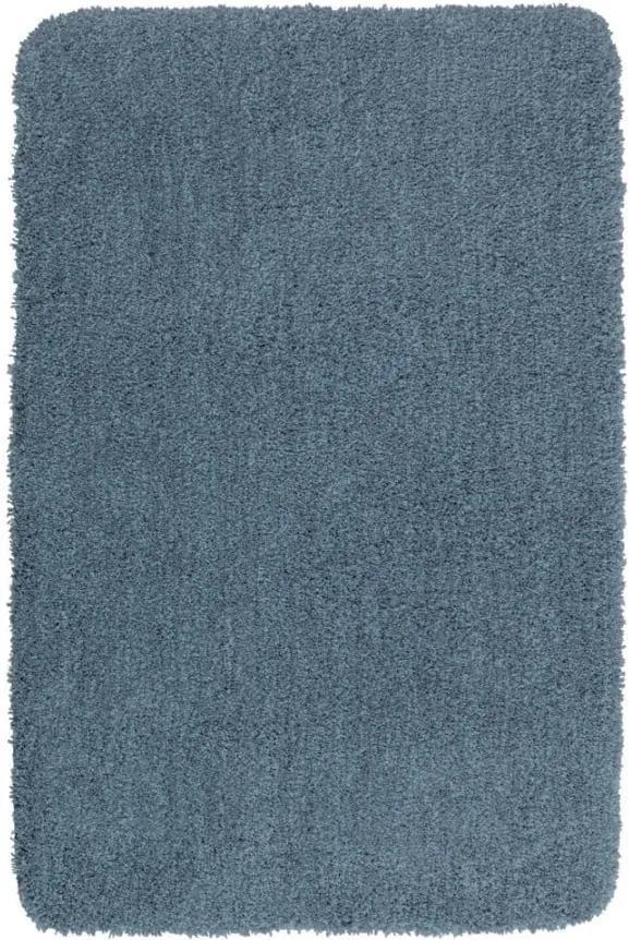 Covor baie Wenko Mélange, 65 x 55 cm, albastru închis