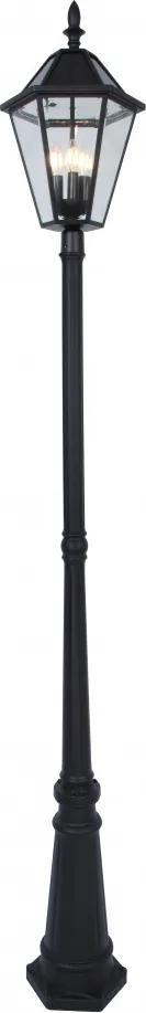Lutec LONDON 6951301189 Stalpi și lampadare de exterior negru yankon