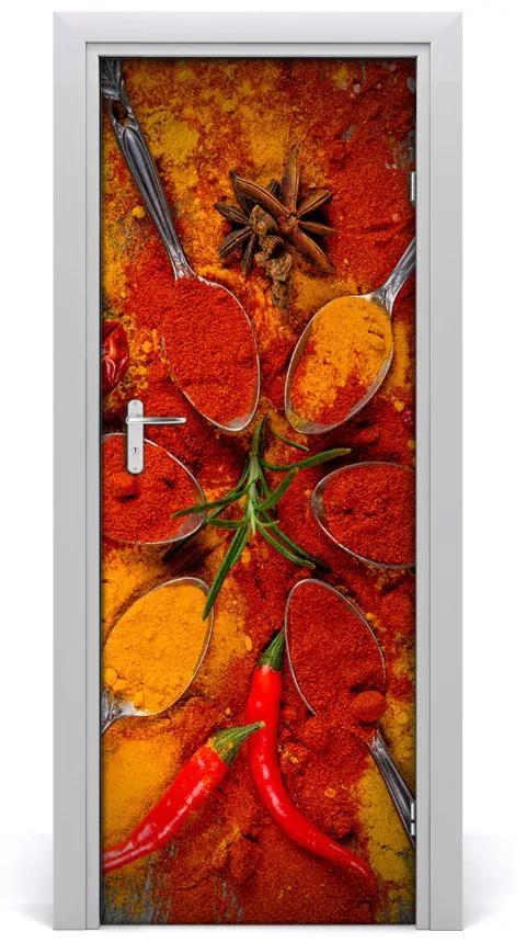 Autocolante pentru usi condimente