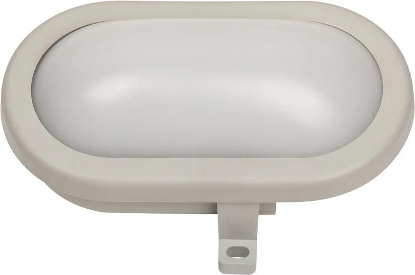 Rábalux Mumbai 8694 Aplica ovala gri plastic LED 7W 500lm 4000K IP44 A+