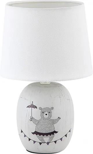 Rábalux Dorka 4603 Veioze, Lampi de masă albastru alb E14 1X MAX 40W