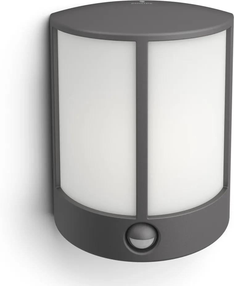 Philips 16465/93/P3 - LED Corp de iluminat perete exterior cu senzor STOCK 1xLED/6W