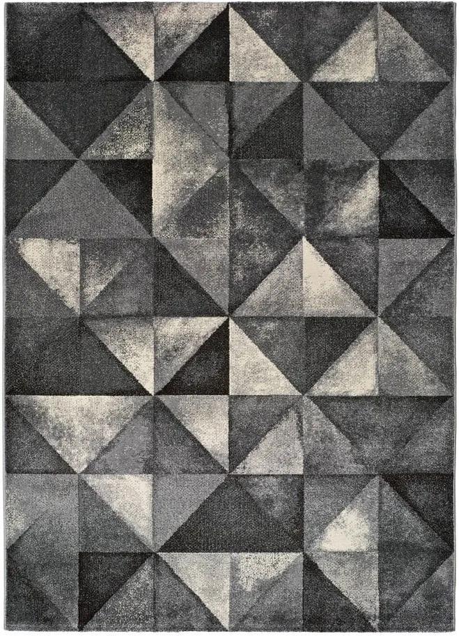 Covor Universal Delta Triangle, 190 x 280 cm, gri