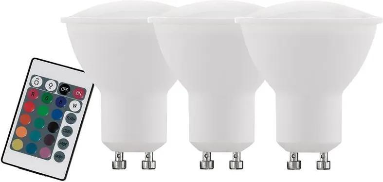 SET 3x Bec dimmabil LED GU10/5W/230V - Eglo 10687