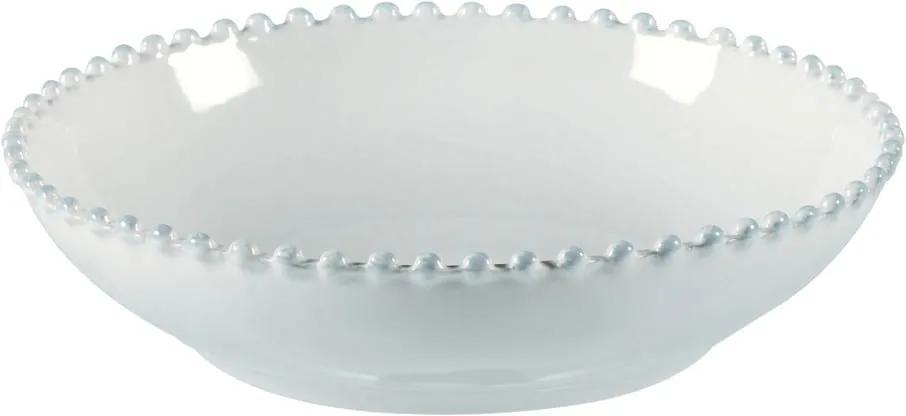 Bol din gresie ceramică Costa Nova Pearl, ⌀ 23 cm, alb