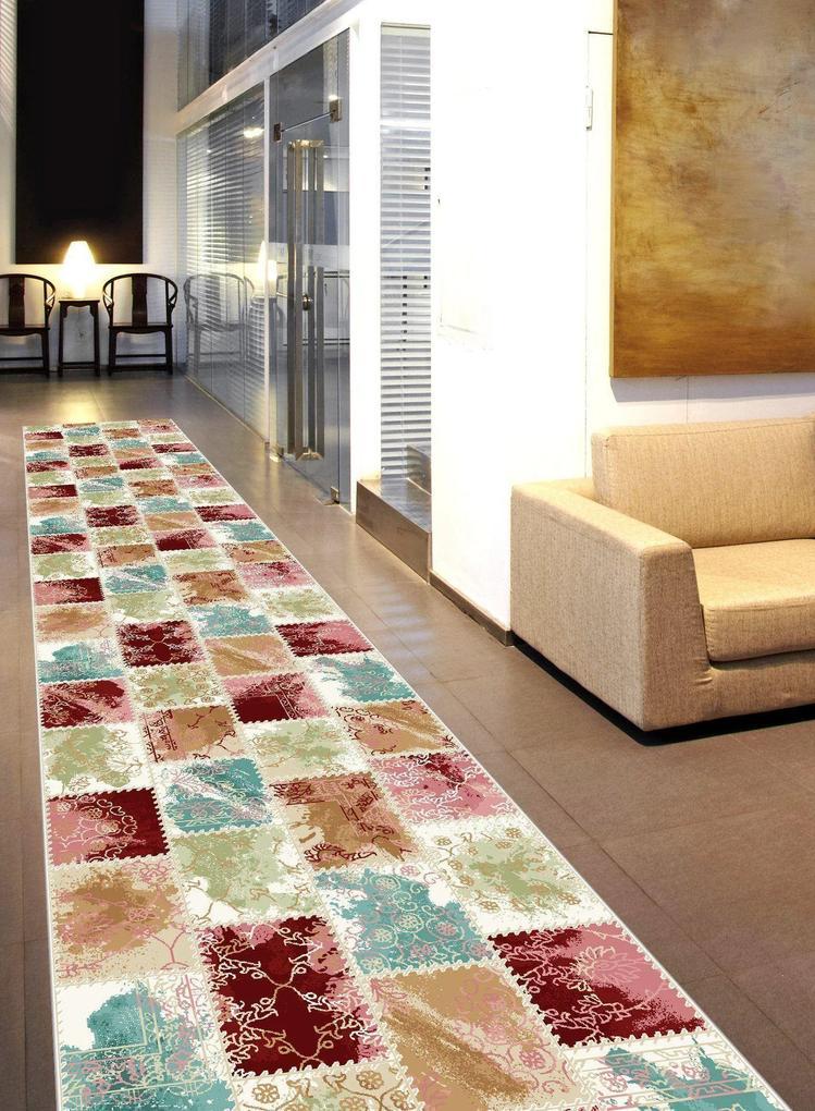 Traversa Tohma Claret - 100 x 200 cm